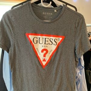 Grey guess shirt from Macy's